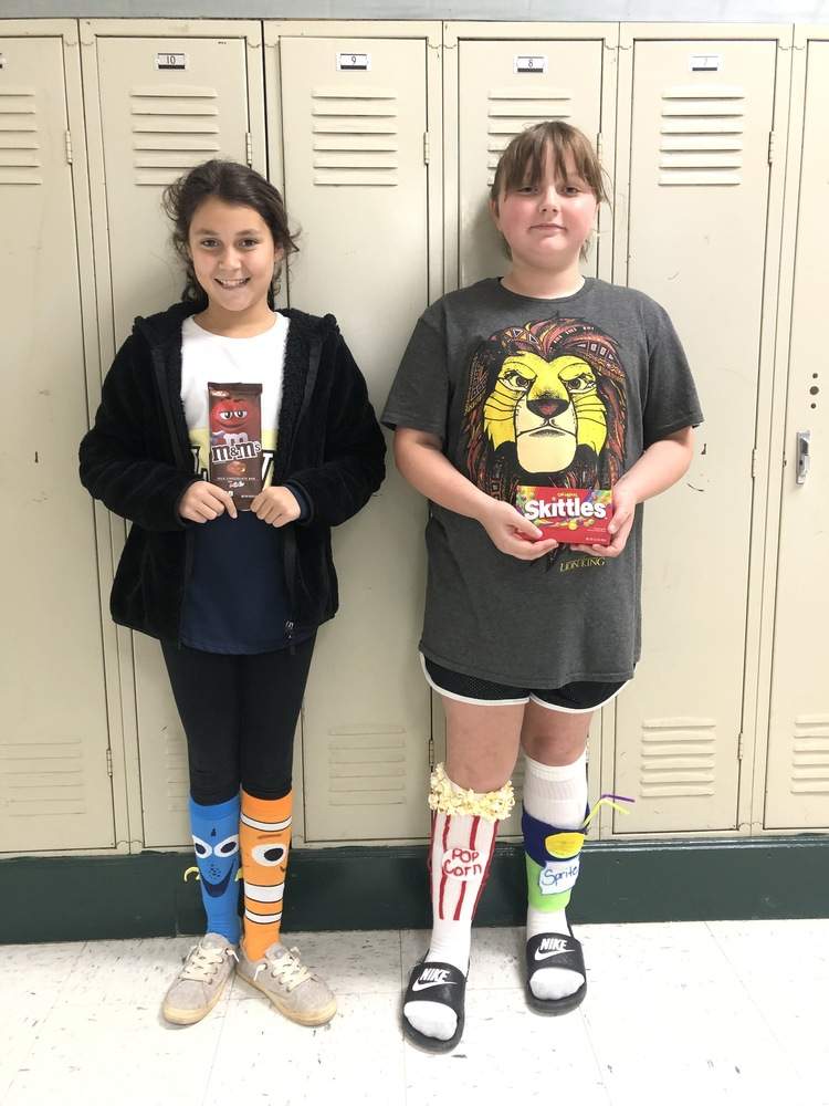 Red Ribbon Week Crazy Sock Day Winners