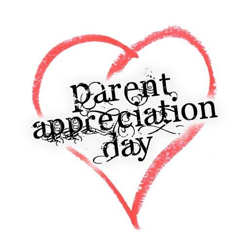 Wednesday's are Parent Appreciation Day