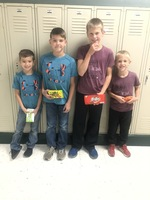 Red Ribbon Week Twin Day Winners
