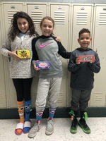 Crazy Sock Red Ribbon Week Winners