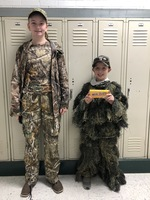 Camo Day Red Ribbon Week Winners