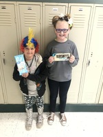 Red Ribbon Week Crazy Hair/Hat Day Winner