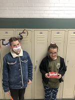 Crazy Hair/Hat Day Red Ribbon Week Winners