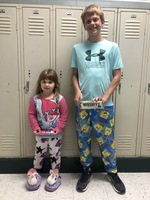 Pajama Day Red Ribbon Week Winners