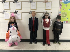 PreK-2nd Halloween Contest Winners