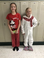 Red Ribbon Week Pajama Day Winners